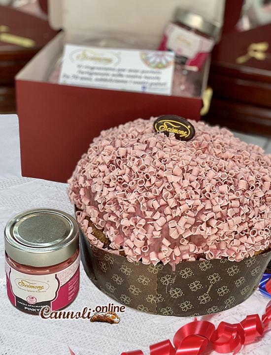 Panettone artigianale al cioccolato Ruby