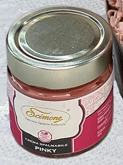 Panettone artigianale con crema al cioccolato Ruby