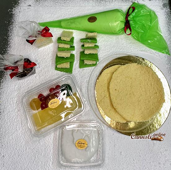 La ricetta della cassata siciliana, il kit cassata di Pasticceria Scimone
